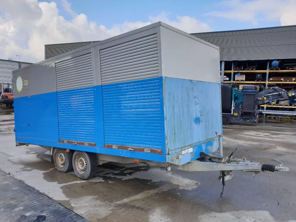 Hapert AL3500, HAPA-1300, oil service wagon, Overige aanhangers, Transport