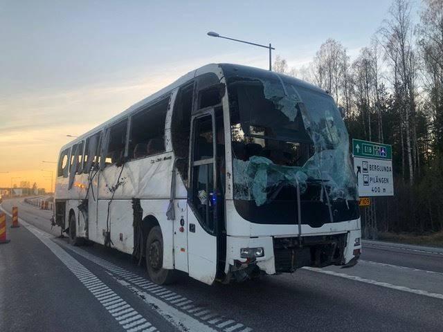 MAN Lion's Coach, for parts, Turbuss, Transport