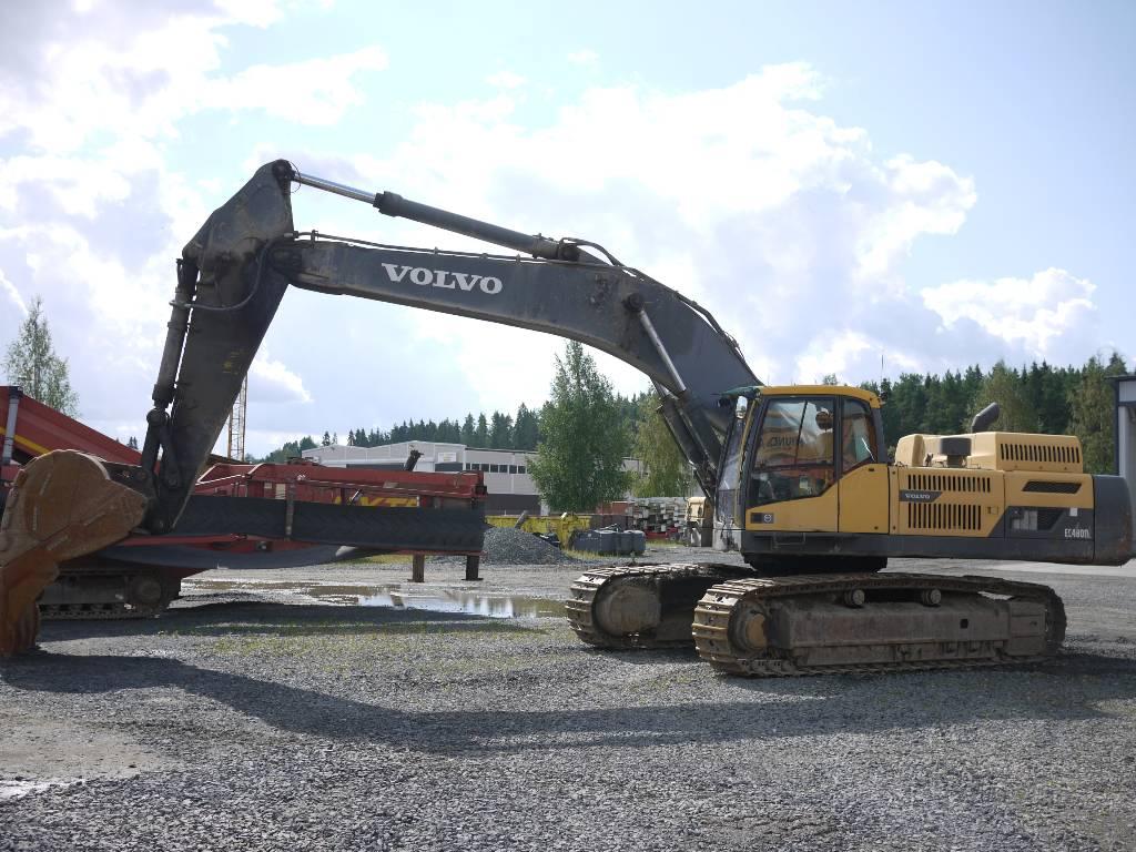 Volvo EC 480 DL, Telakaivukoneet, Maarakennus