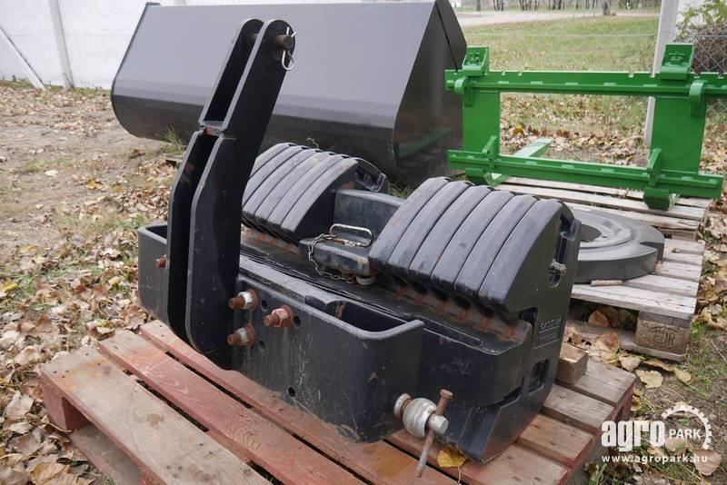 Case 870 kg original Case front weight