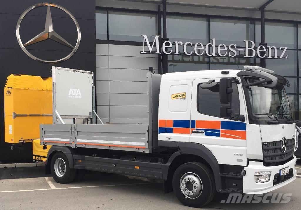 Mercedes-Benz Atego 1218, Flakbilar, Transportfordon