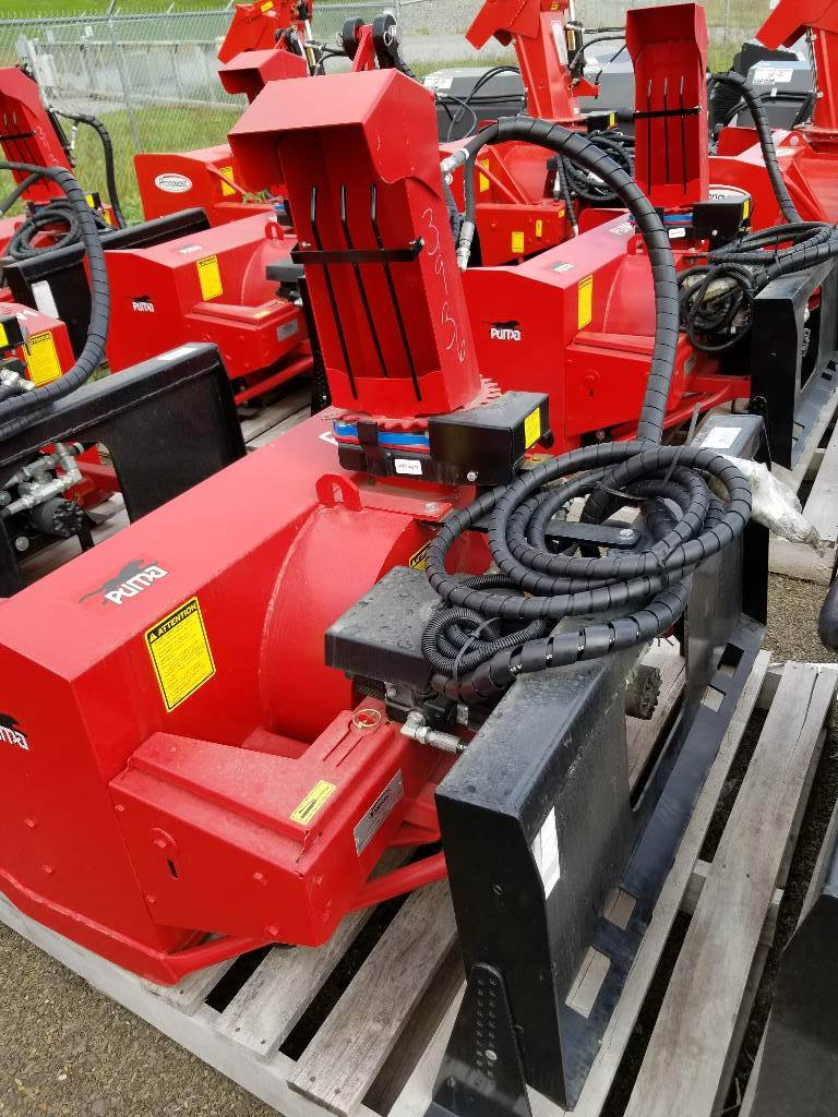 """Puma by Pronovost 48"""" Snow Blower, Wheel Loader Attachments, Products"""