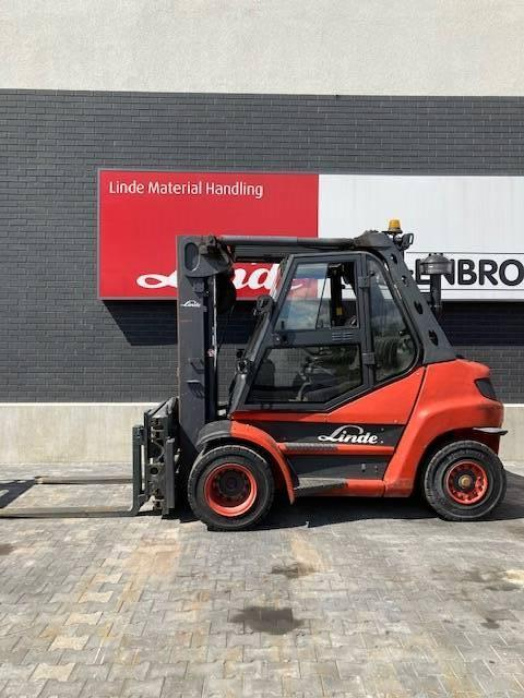 Linde H80D/396, Diesel trucks, Material Handling