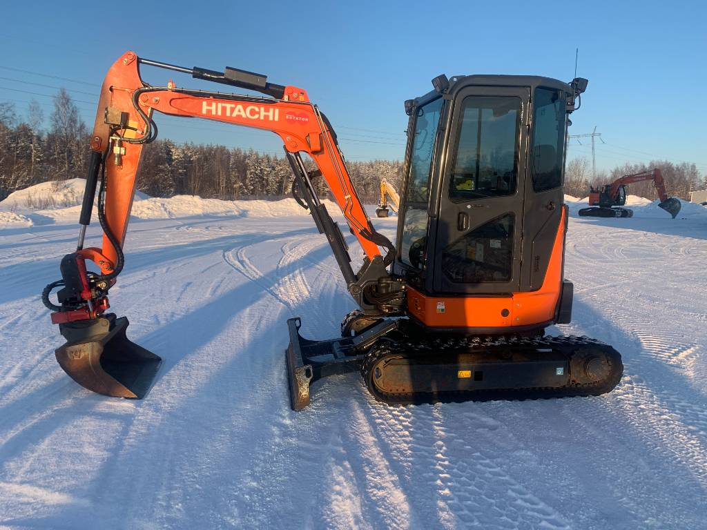 Hitachi ZX33U-5A CLR, Mini excavators < 7t, Construction Equipment