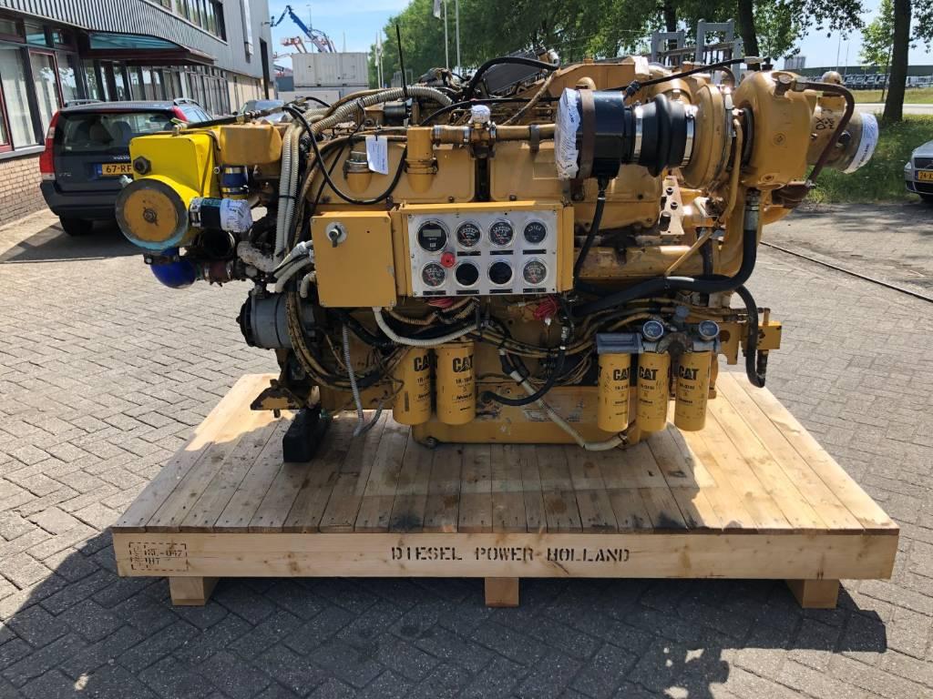 Caterpillar 3412 E - Marine Propulsion - 895 kW - 3JK, Marine Applications, Construction
