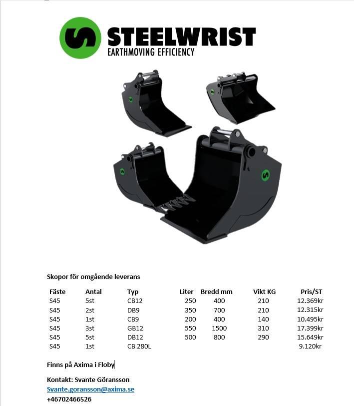 [Other] Steelwrist S45 GB,CB,DB, Skopor, Entreprenad