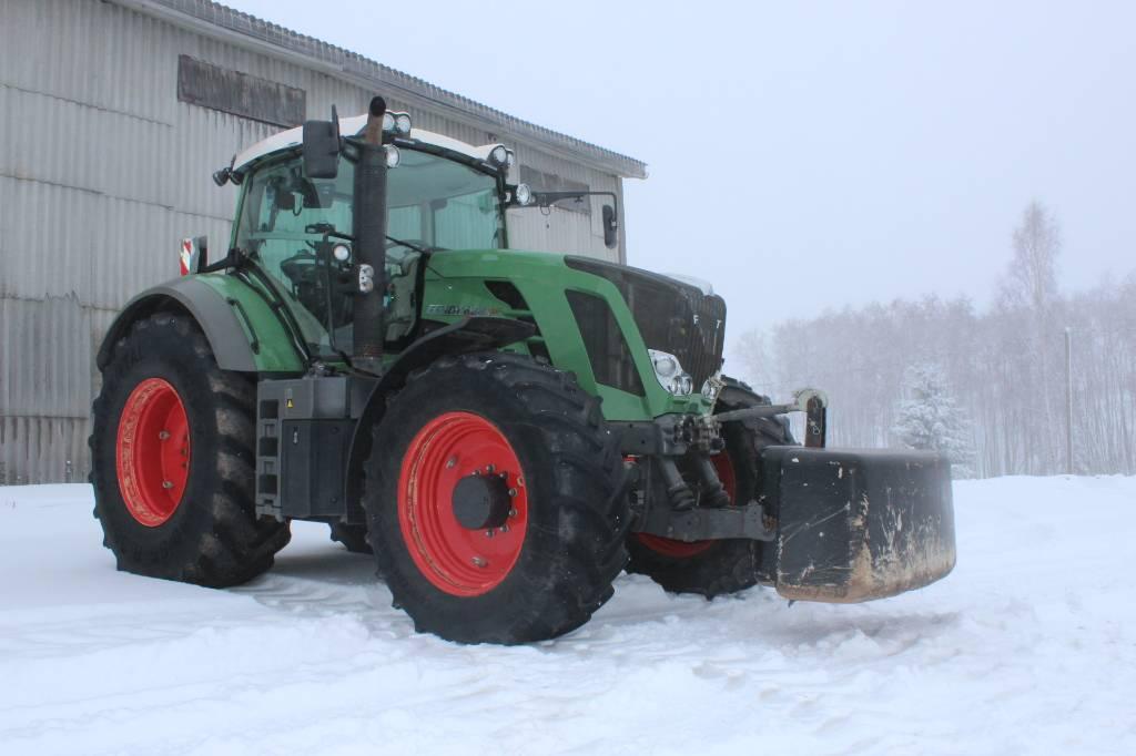 Fendt 828 Vario, Traktorid, Põllumajandus