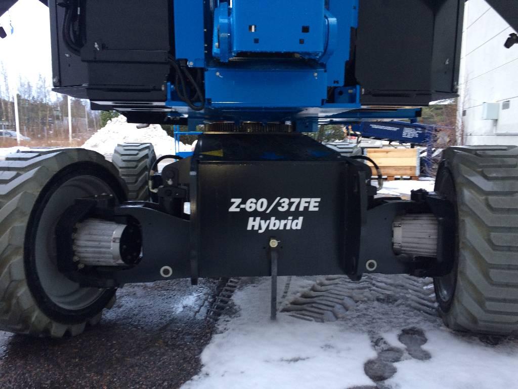 Genie Z-60/37FE Hybridi, Kuukulkijat, Maarakennus