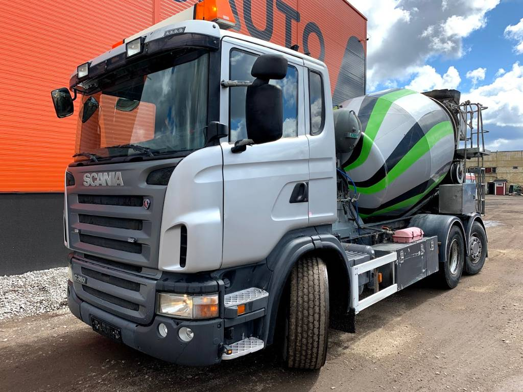 Scania G 380 Mixer + Hydraulic pipe 9M, Concrete Trucks, Trucks and Trailers