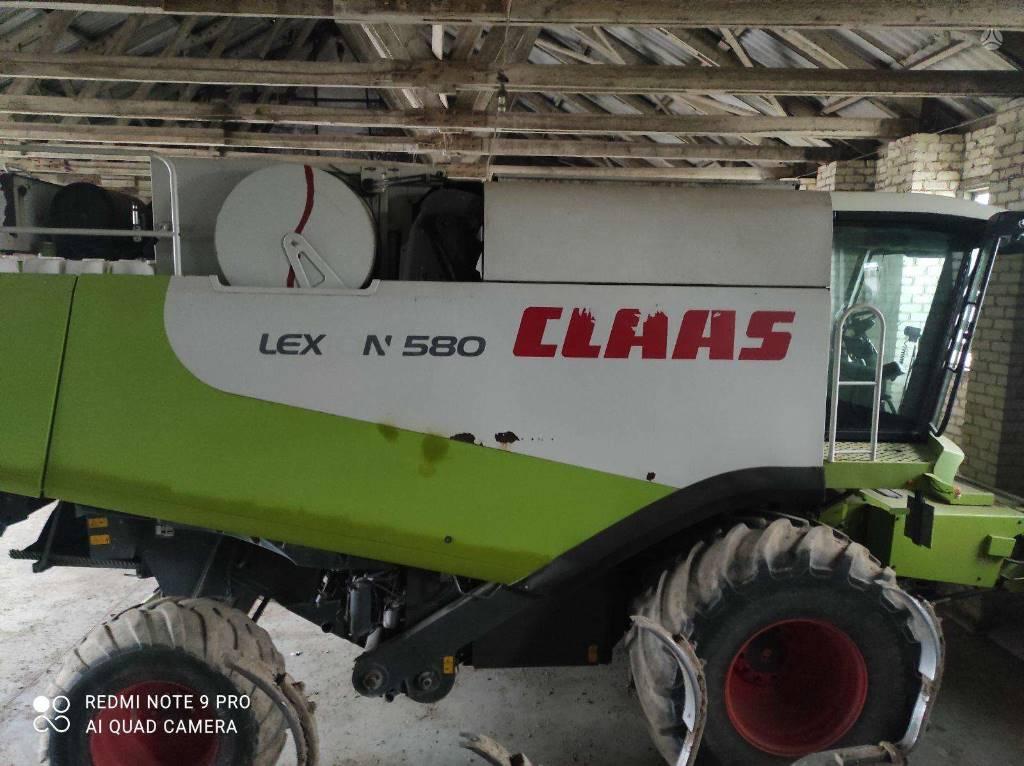 CLAAS Lexion 580, Leikkuupuimurit, Maatalouskoneet