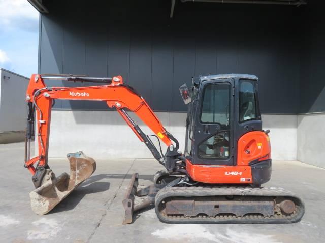 Kubota U 48-4, Mini excavadoras < 7t, Construcción