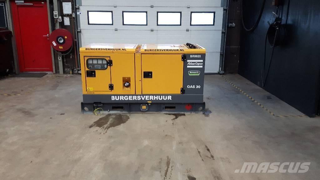 Atlas Copco QAS 30, Diesel generatoren, Bouw