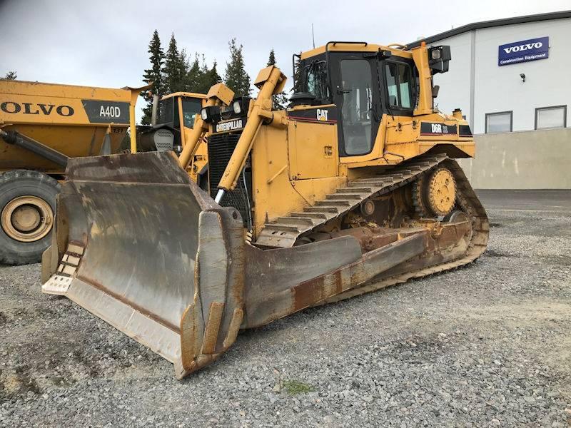 Caterpillar D6RXL, Crawler dozers, Construction Equipment