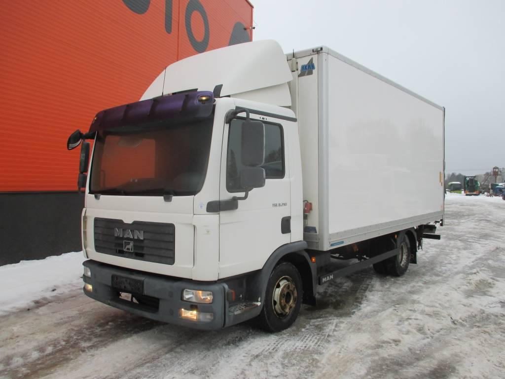 MAN TGL 8.210 Refrigerated Box + Thermoking V-700, Reefer Trucks, Trucks and Trailers