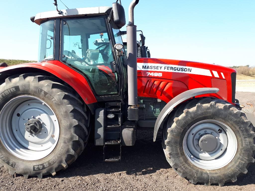 Massey Ferguson 7495 Dyna VT, Traktorer, Landbrug