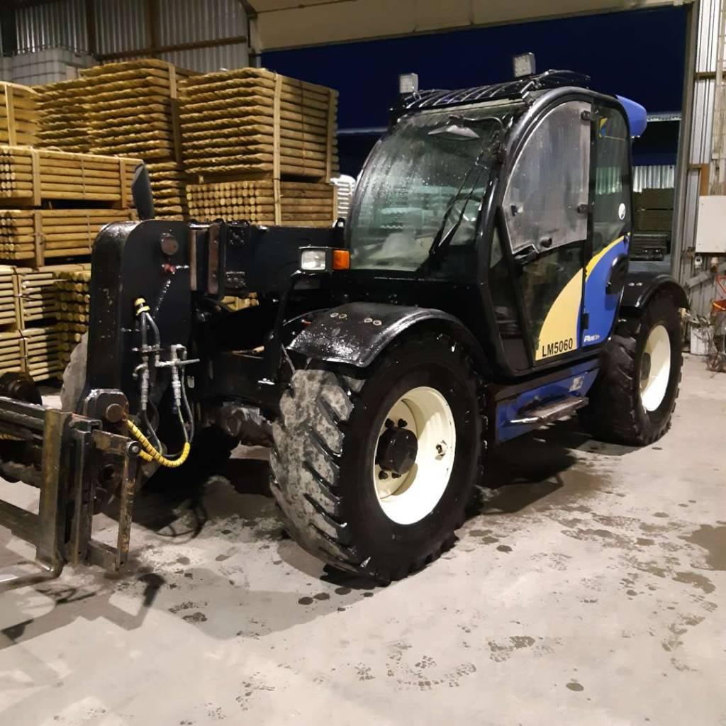 New Holland LM 5060 Plus, Põllumajanduslikud teleskoopkäitlejad, Põllumajandus