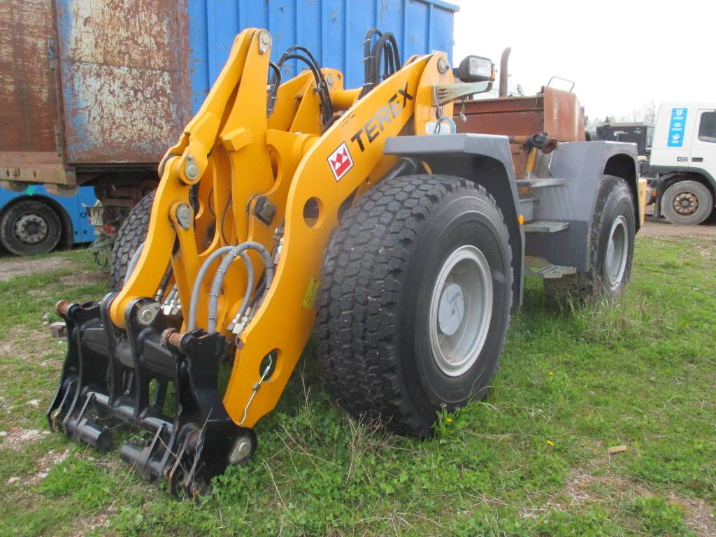 Terex TL 260, Construction chassis and suspension, Construction Equipment
