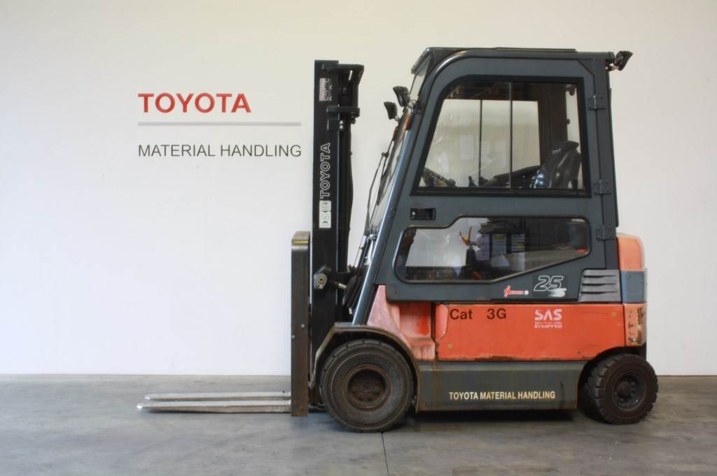 Toyota 7 FB MF 25, Electric forklift trucks, Material Handling