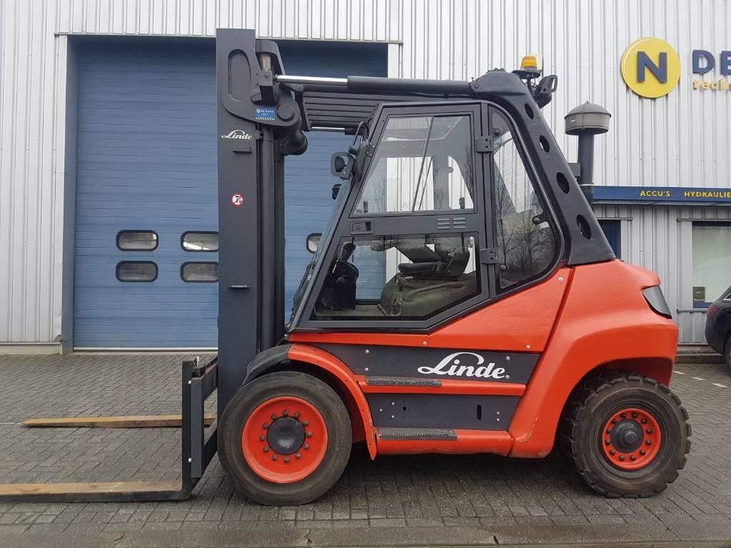 Linde H80D, Diesel heftrucks, Laden en lossen