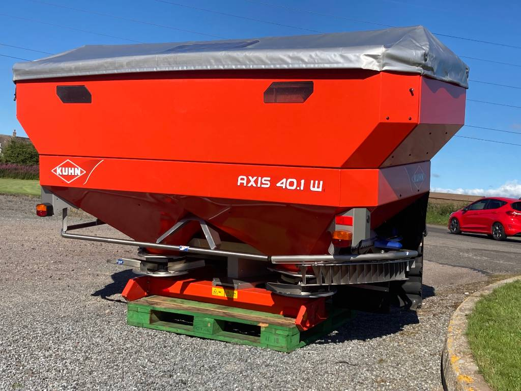 Kuhn Axis 40.1 W, Mineral spreaders, Agriculture
