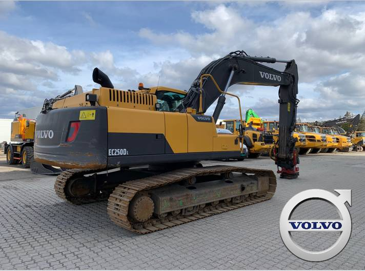 Volvo EC 250 D L, Crawler Excavators, Construction Equipment