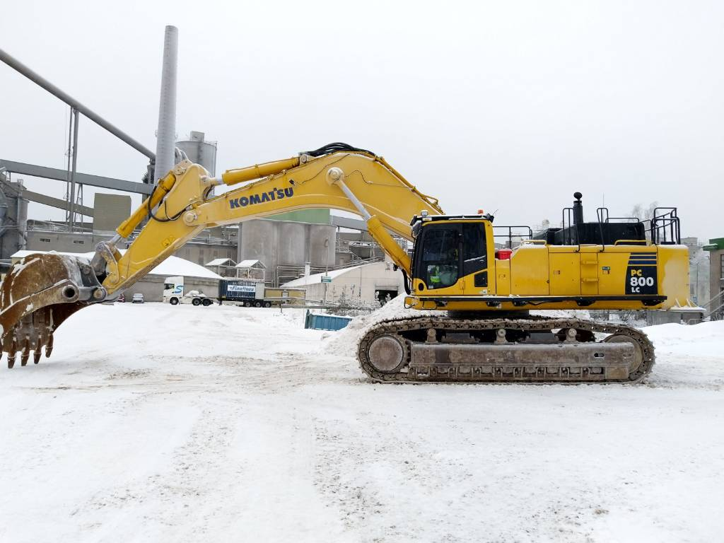 Komatsu PC800LC-8, Crawler Excavators, Construction Equipment