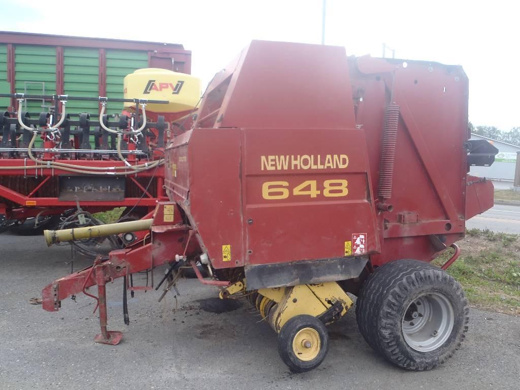 New Holland 648, Pyöröpaalaimet, Maatalous