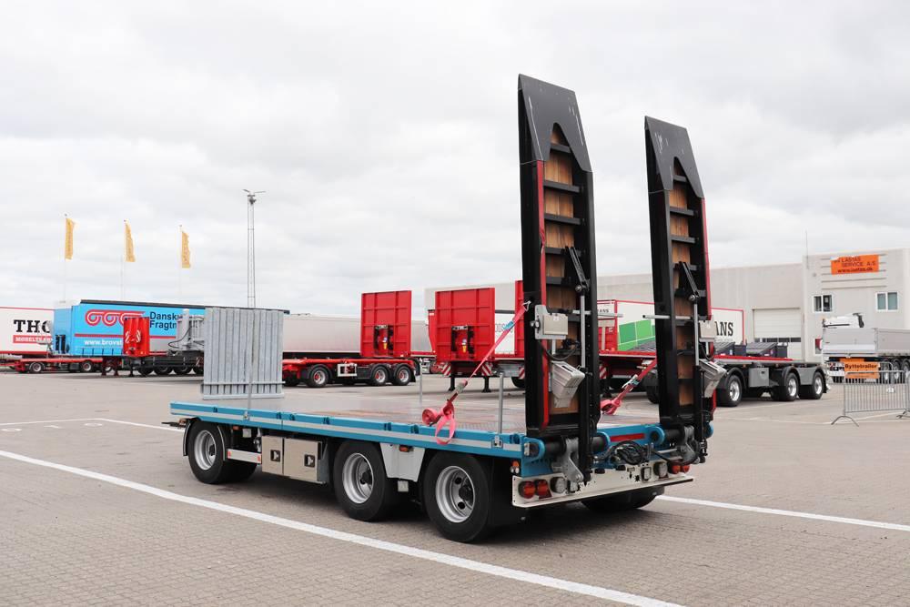 Kel-Berg S210H Slep med uttrekk og kjørebroer, Planhengere, Transport