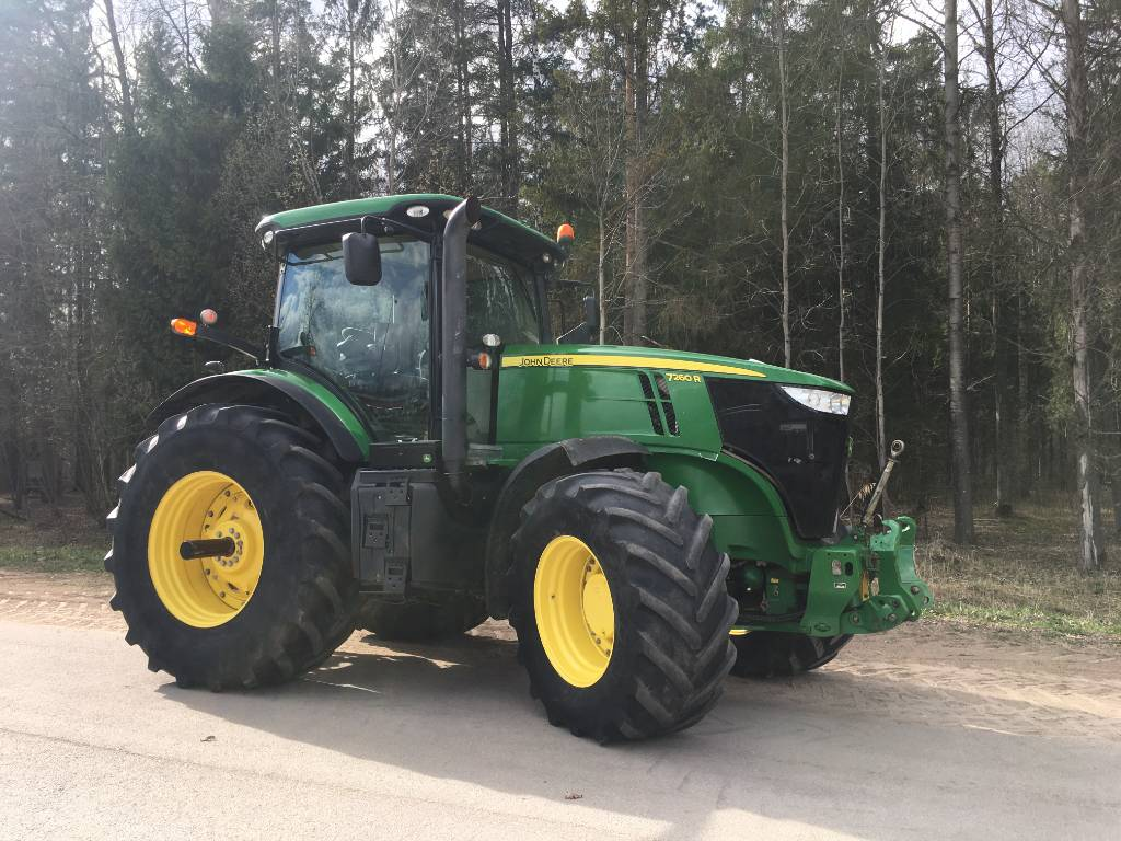John Deere 7260 R, Traktorit, Maatalouskoneet