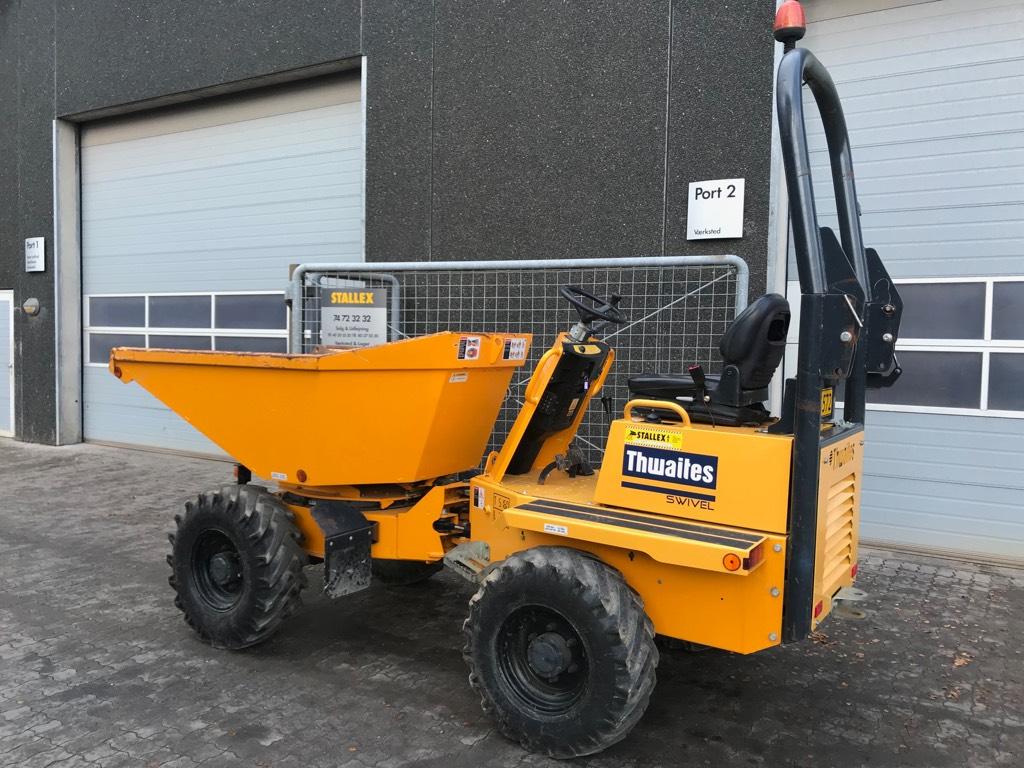 Thwaites mach573 / 3 tonne, Dumpere, Entreprenør