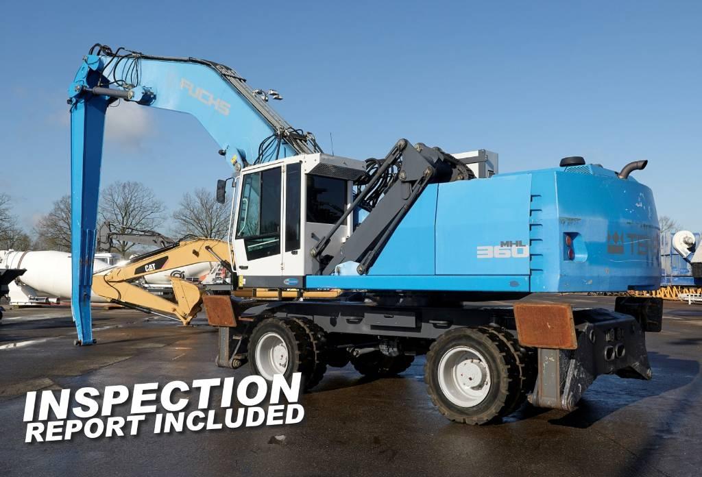 Fuchs MHL 360 E, Waste / industry handlers, Bouw