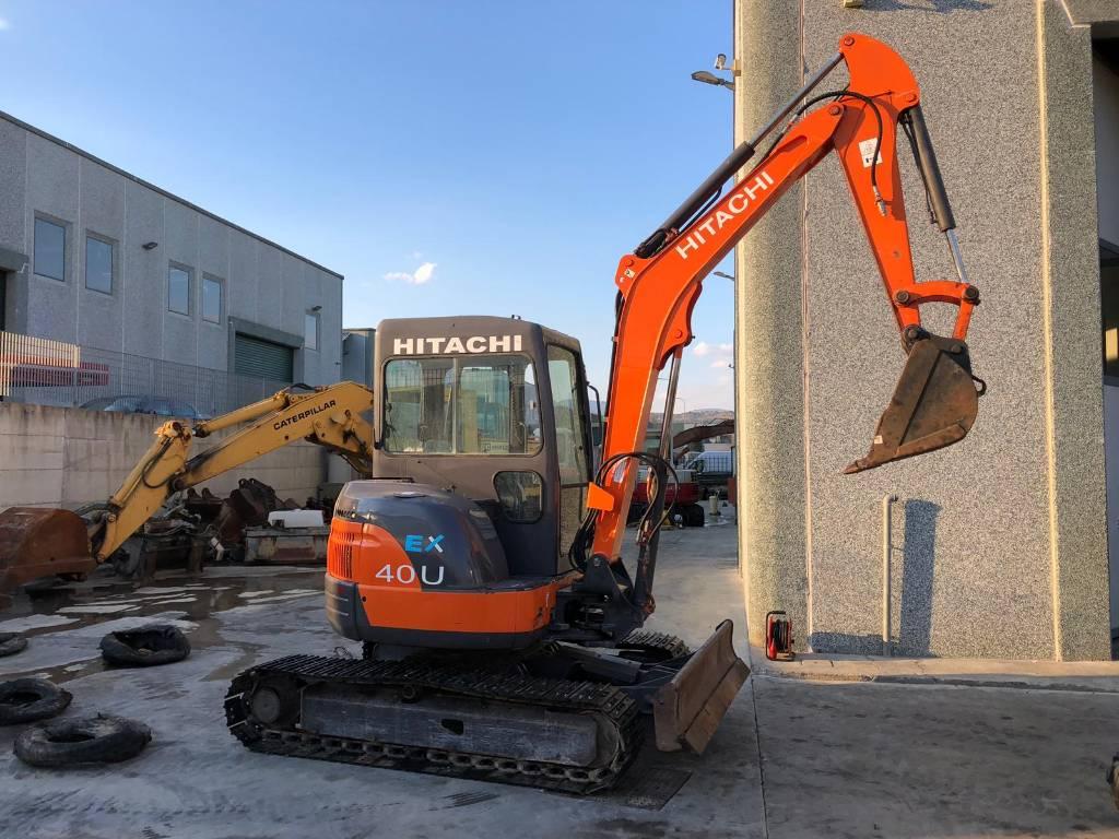 Hitachi EX40U, Mini Excavators <7t (Mini Diggers), Construction Equipment