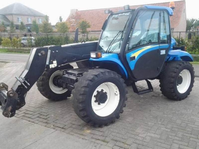 New Holland LM435, Verreikers voor landbouw, Landbouw