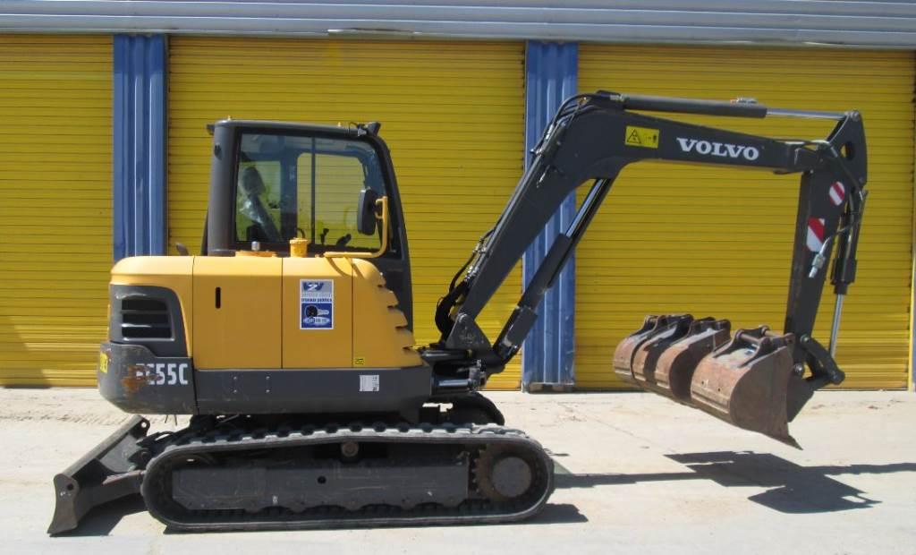 Volvo EC 55 C - Mini excavators < 7t (Mini diggers) - Construction