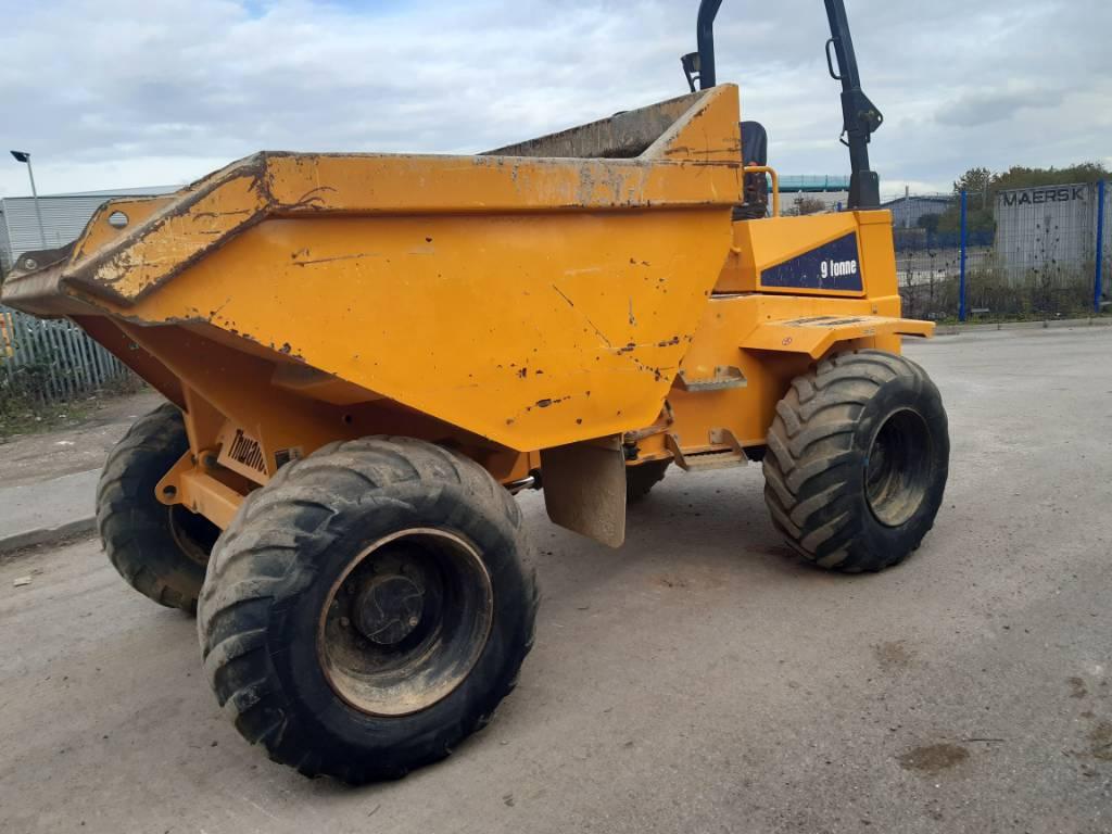 Thwaites 9 ton dumper, Site dumpers, Construction