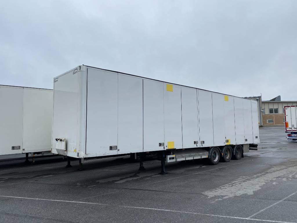 Ekeri KAPELLIKATTO PUOLIPERÄVAUNU, DJU-193, Box body semi-trailers, Transportation