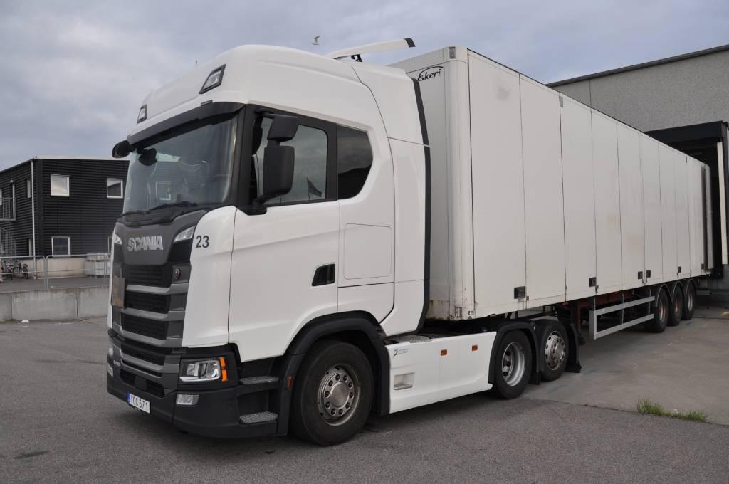 Scania R450 6X2, Dragbilar, Transportfordon