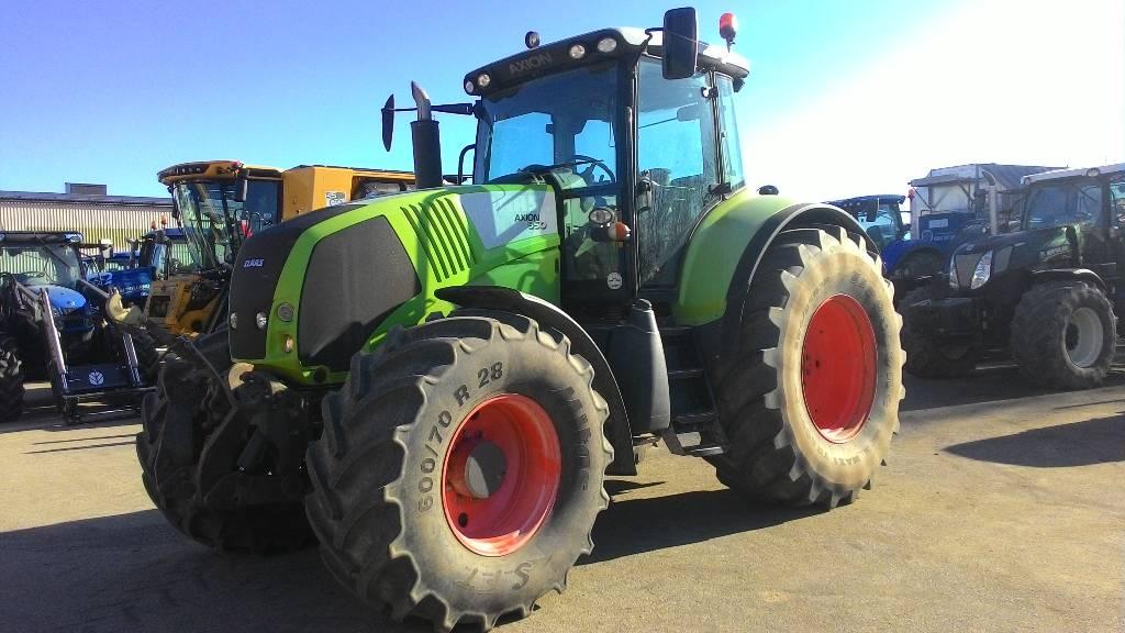 CLAAS Axion 850 Cebis, Traktorid, Põllumajandus