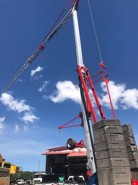 Potain IGO M 14, Tower Cranes, Construction Equipment