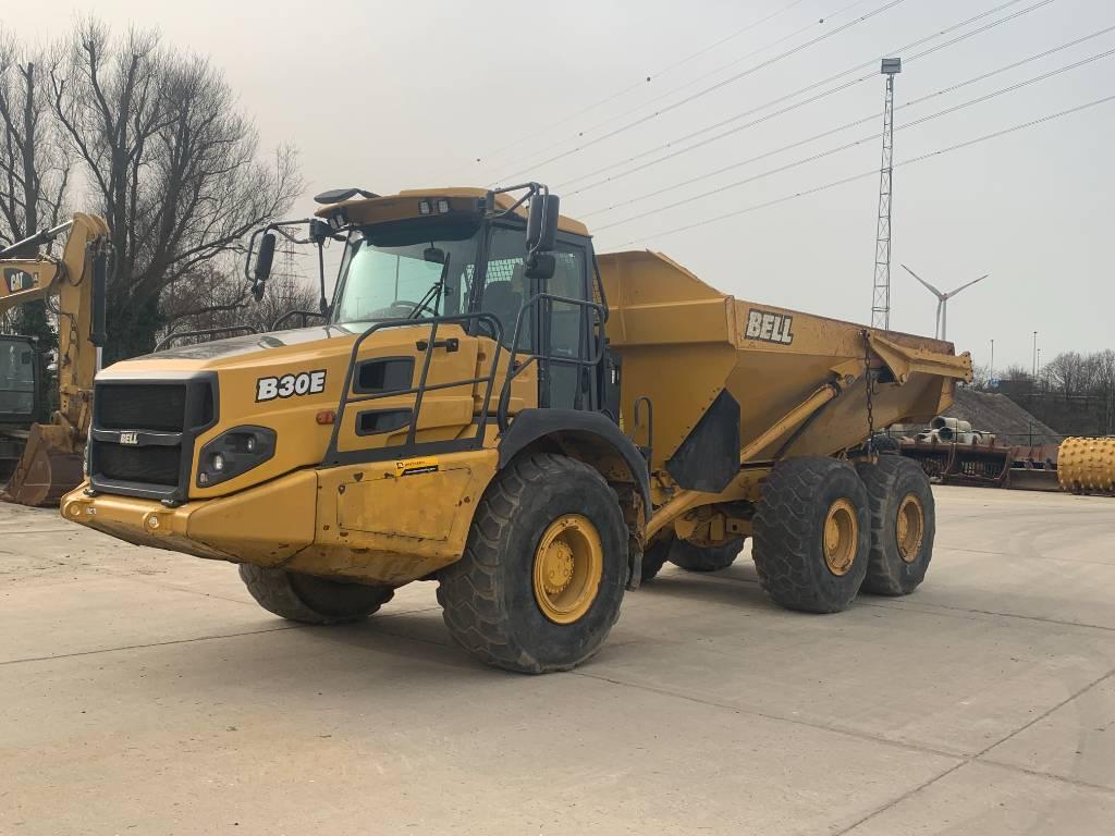 Bell B 30 E, Articulated Dump Trucks (ADTs), Construction