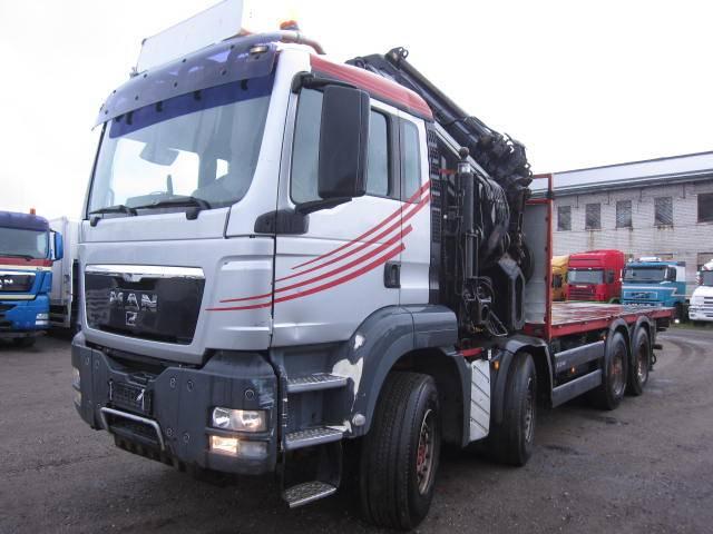 MAN TGS41.480, Kraanaga veokid, Transport