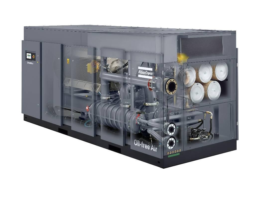 Atlas Copco ZH 15000+ 6kV, Compressores, Construção