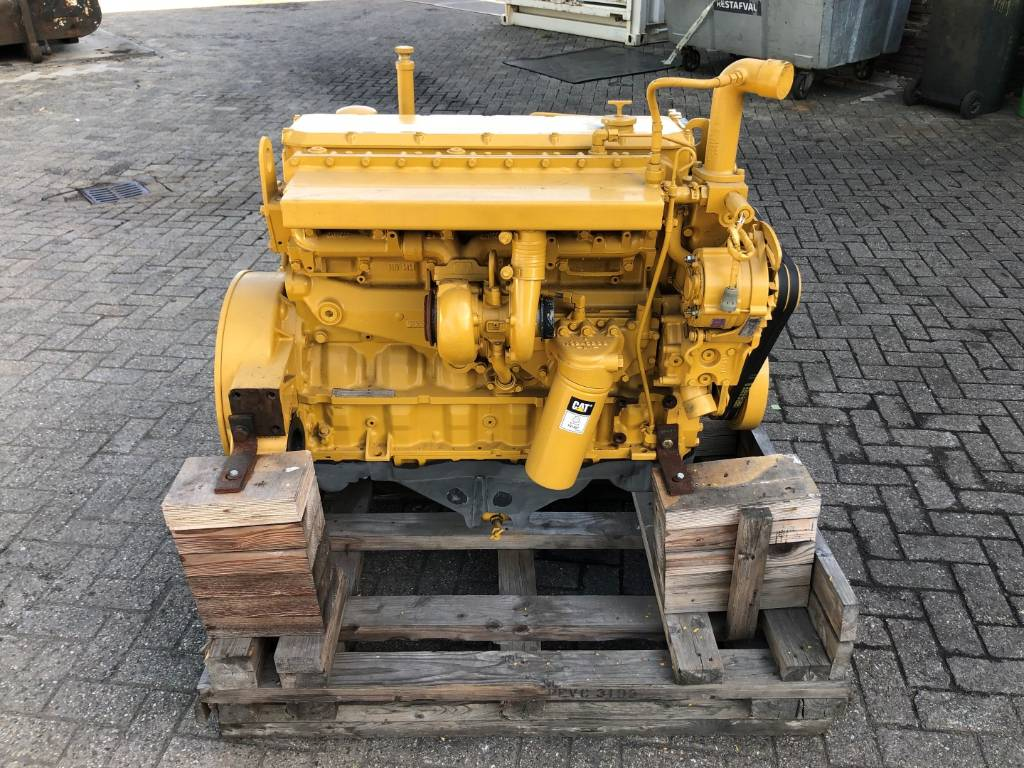 Caterpillar - Surplus - 3116 - Industrial Engine - 125 kW - 4TF, Industrial Applications, Construction