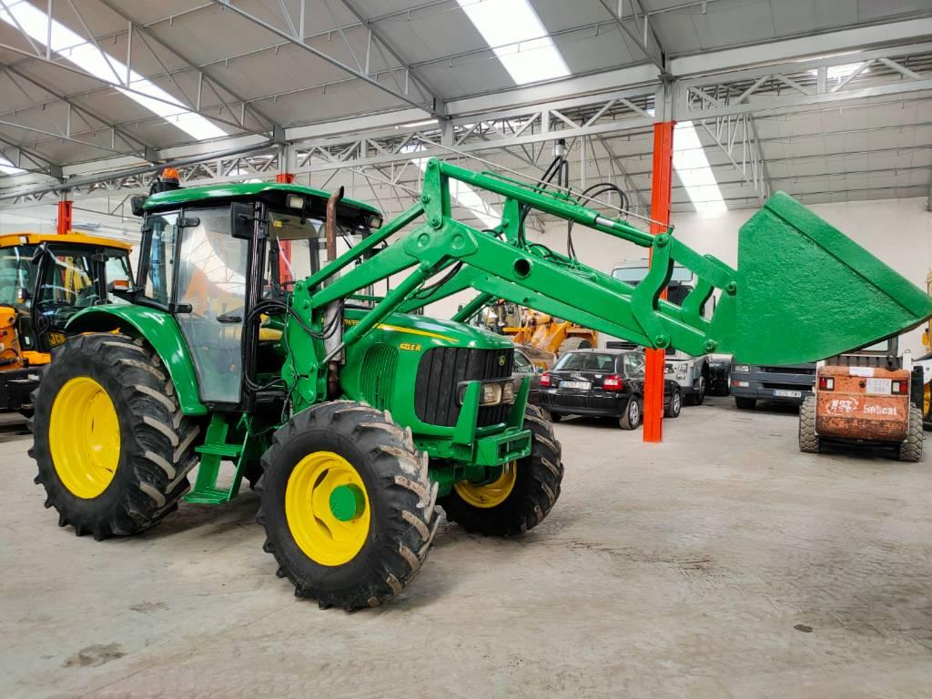 John Deere 6215 R, Tractores, Agricultura