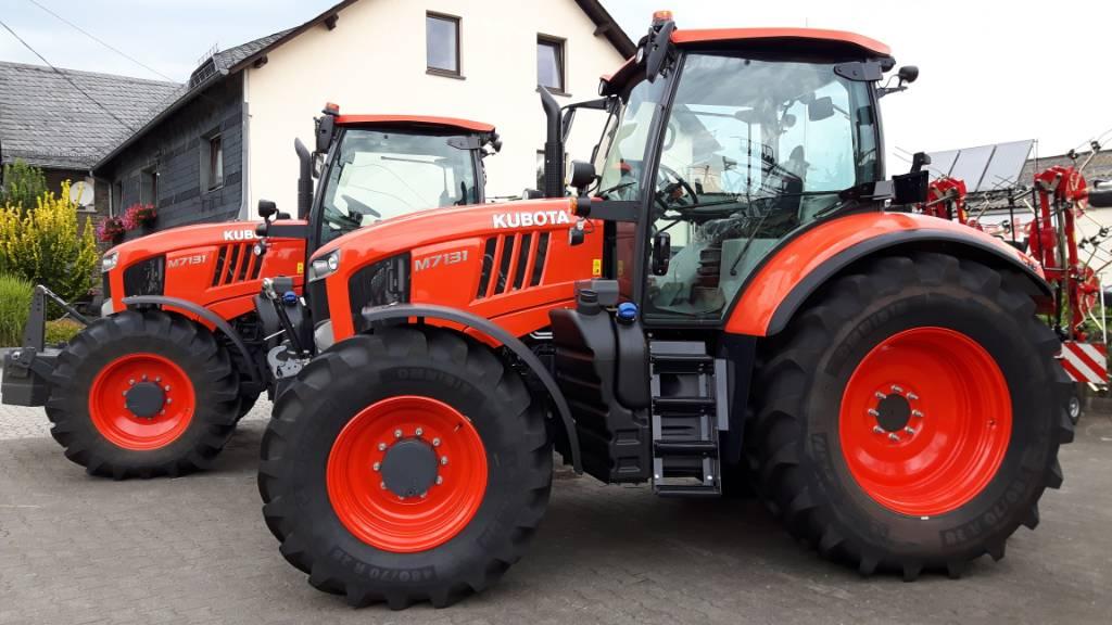 Kubota M 7131 Access Powershift, Tracteur, Agricole
