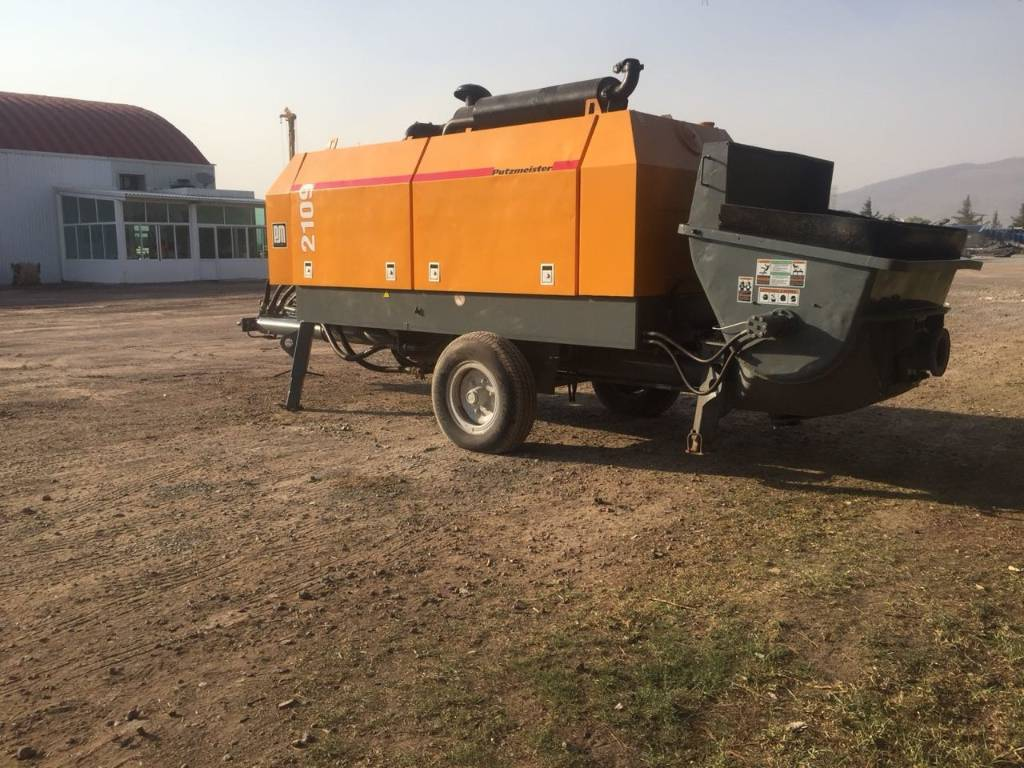 Putzmeister BSA 2109, Concrete Equipment, Construction Equipment