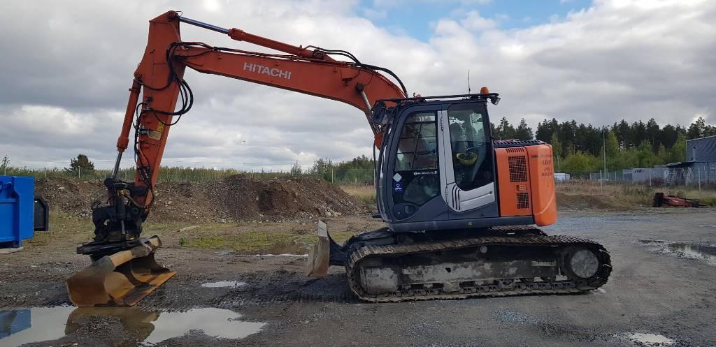 HITACHI ZX 135 US BL-3, Crawler excavators, Construction