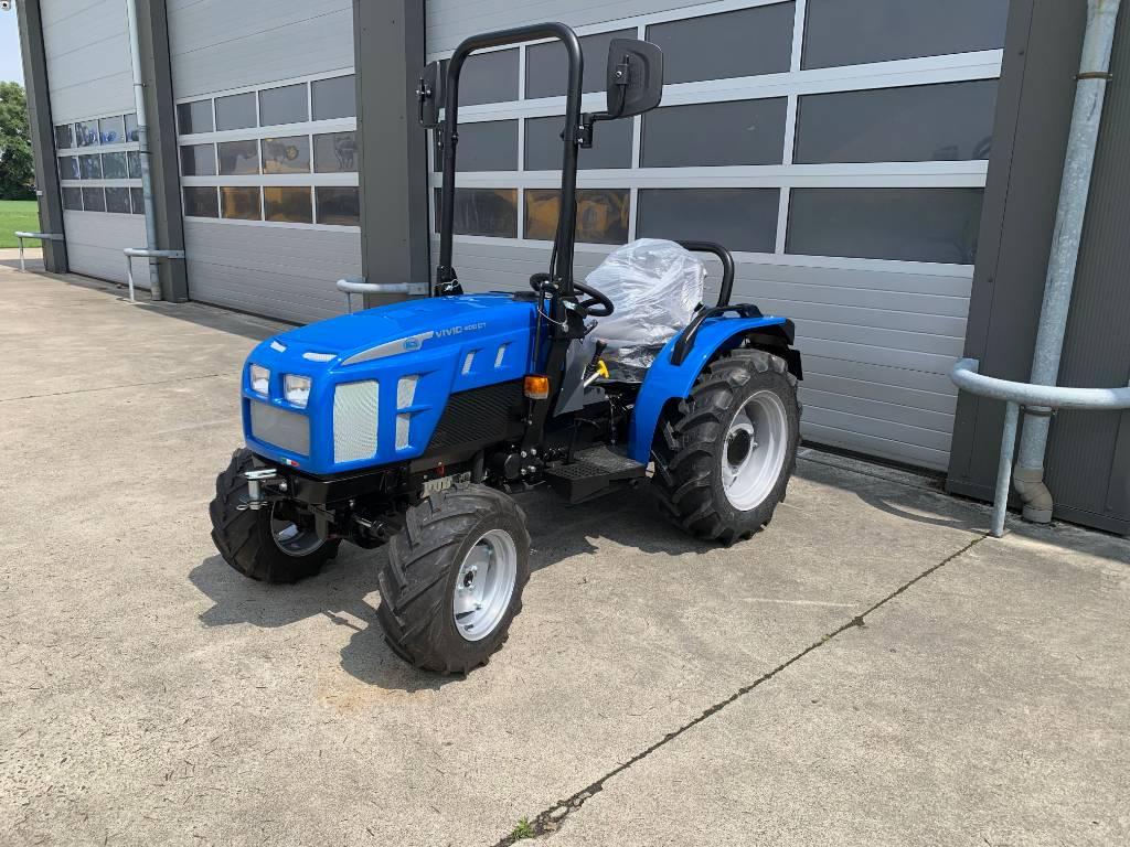 BCS VIVID 400DT, Tractoren, Werktuigen