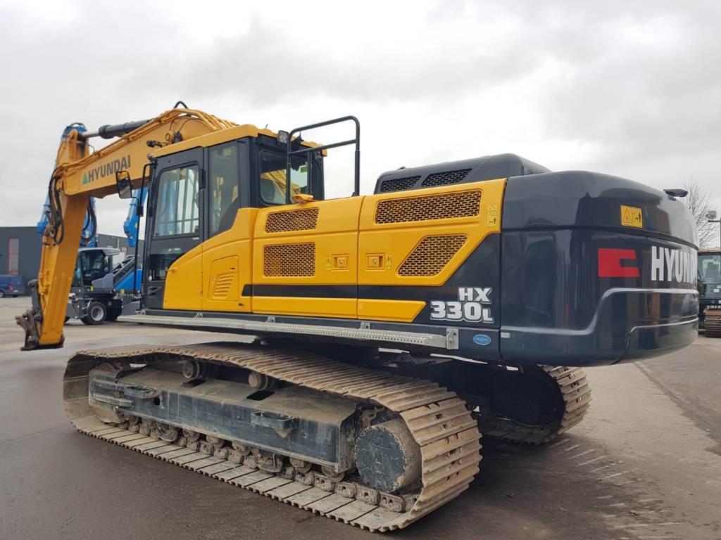 Hyundai HX 330 L, Crawler Excavators, Construction Equipment