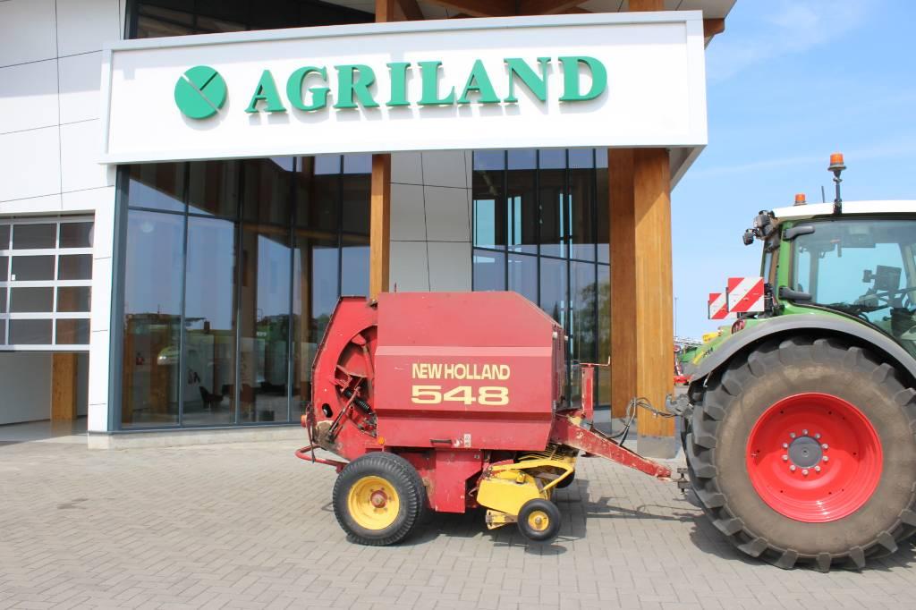 New Holland 548, Ruloonpressid, Põllumajandus
